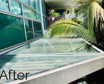 Glass Canopy Replacement