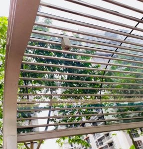 Curved Glass Canopy
