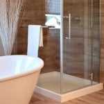 frameless glass shower screen