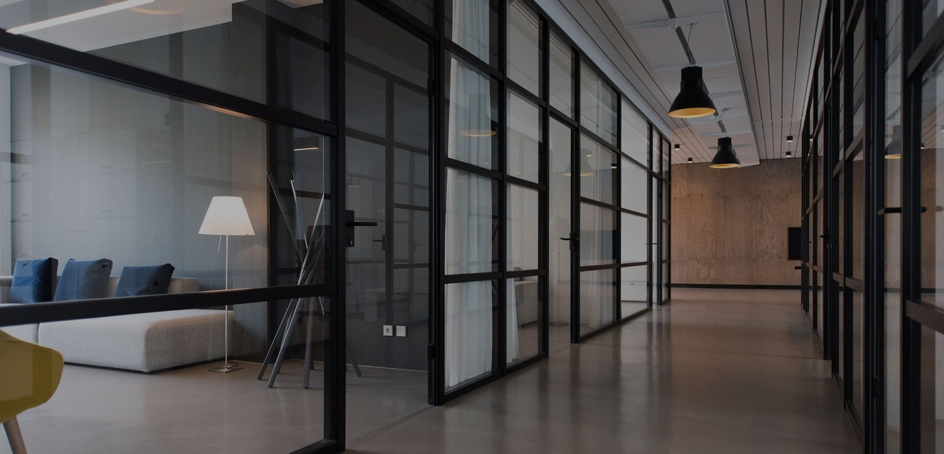 Glass Partitions Solution for Office