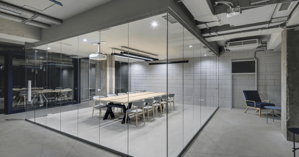 Glass Partitions for Office